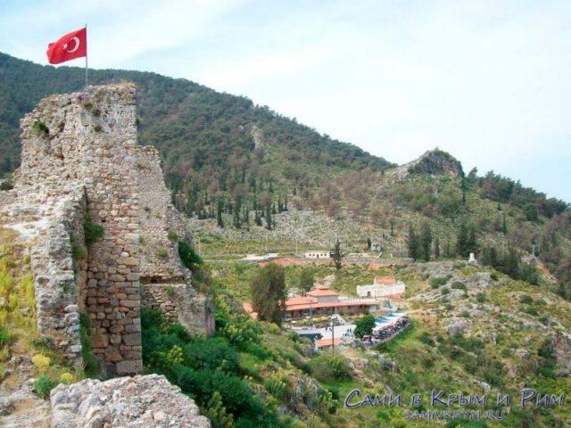 Рыцарский замок в Фетхие