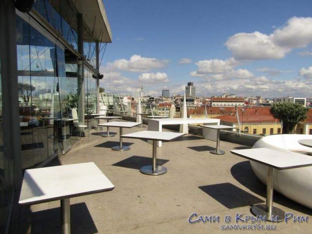 Летняя площадка диско-ресторана 360