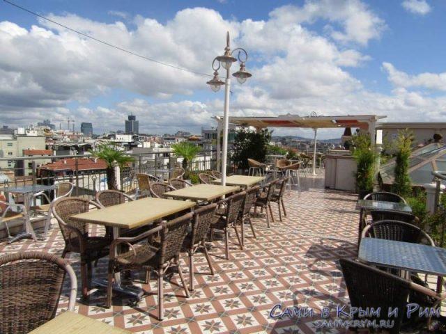 На крыше Grand Hotel de Londres