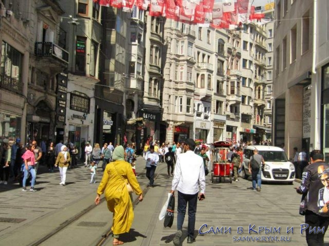Прогулки от Таксима к Галате