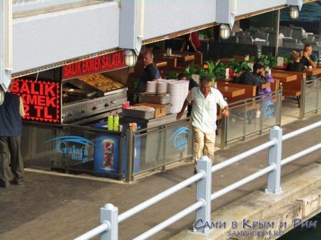 Рестораны под Галатским мостом