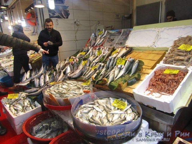 Рыбный рынок Каракей