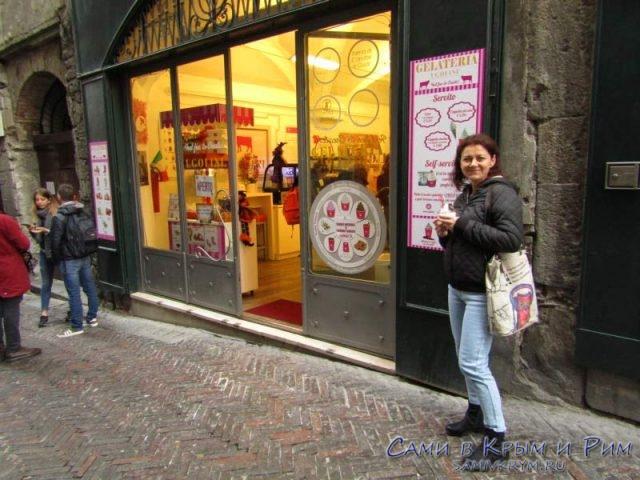 Дегустируем мороженное в Бергамо