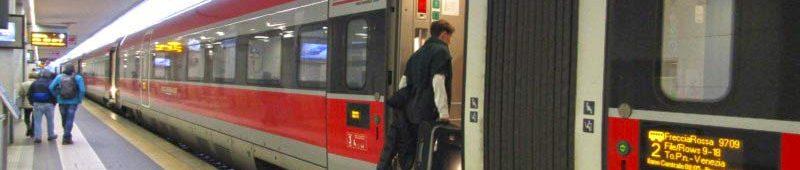 Freciarosso скоростной поезд от Trenitalia
