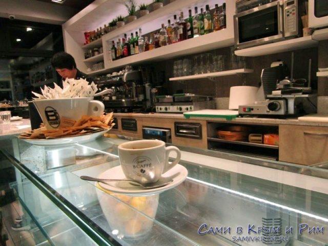 Кофейный концентрат в Милане