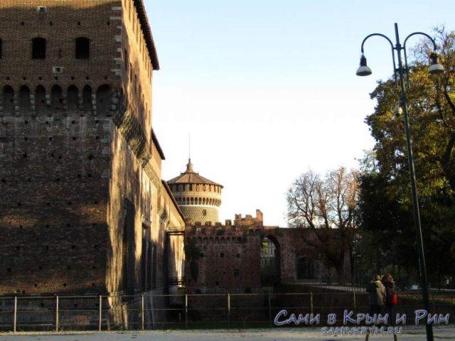 Крепость Сфорцеско