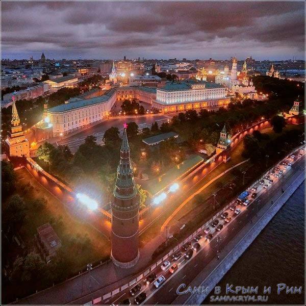 Московский-кремль-сверху