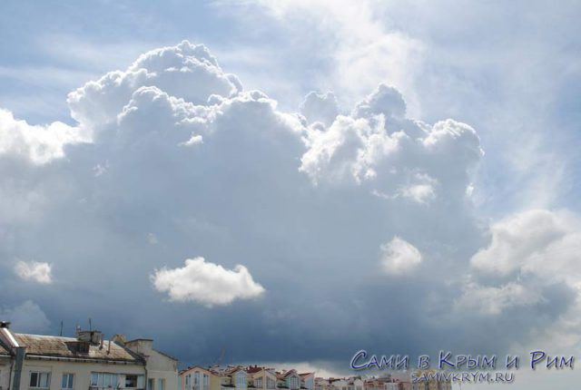 Небо над Севастополем