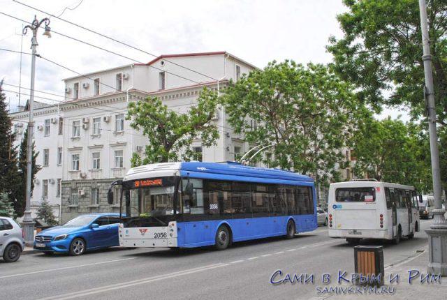 Общественный транспорт Севастополя