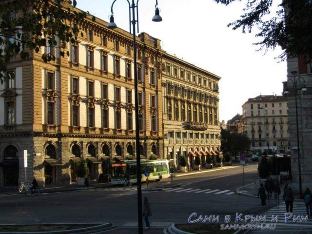 Шедефральные строения Милана