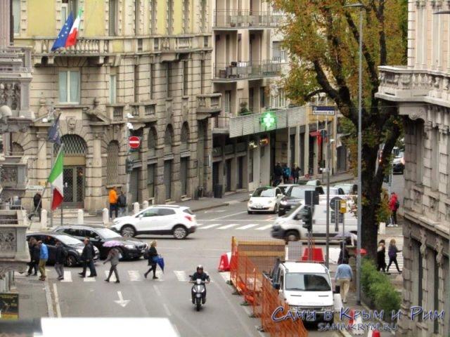 Улицы современного Бергамо