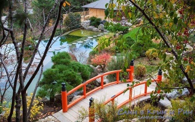 Чайные церемонии, саке и гейши – парк Айвазовское презентовал долгожданный японский сад