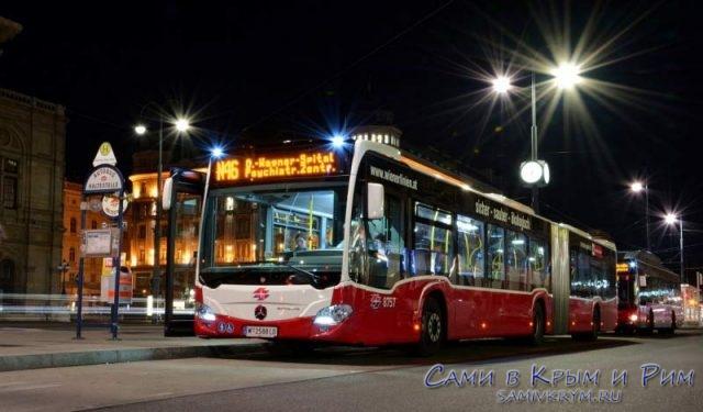 Автобусы Вены