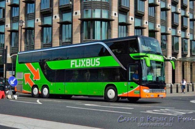 FLIXBUS компания перевозчик между городами Европы
