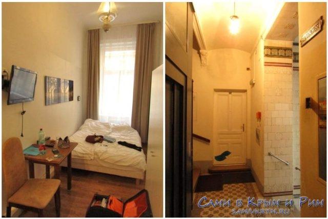 Наша комната и подъезд