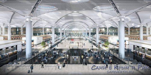 Новый аэропорт Истанбула