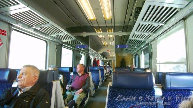 Поезд Евросити Вена - Цюрих