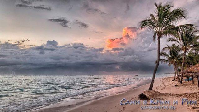 Романтичный отдых на берегу океана