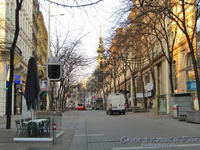 Шопинг-улица Марияхильферштрассе