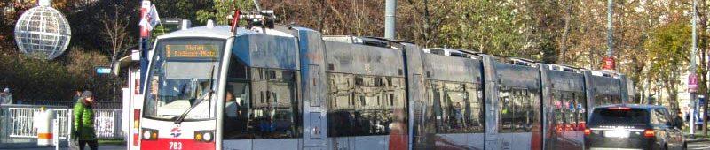 Удобный общественный транспорт Вены