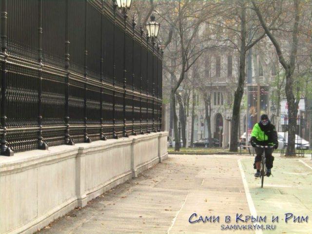 Велосипед один из способов передвижения по Вене