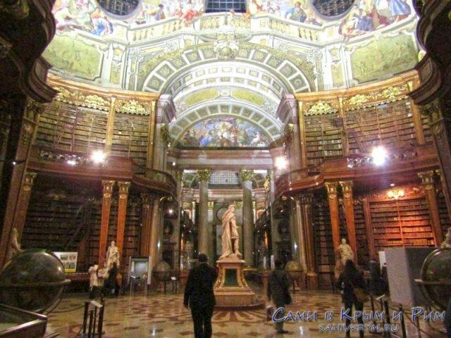 Внутри самой красивой библиотеки в Европе