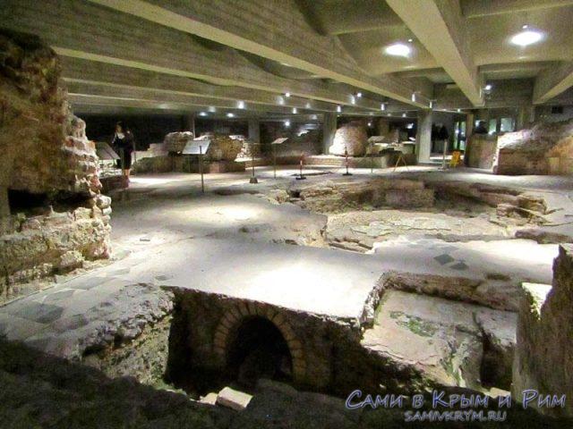 Археологическая часть собора