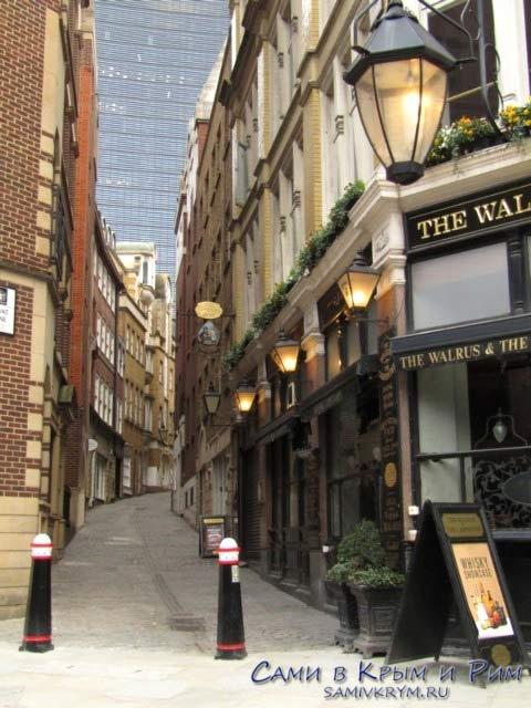 Аутентичные улочки Лондона