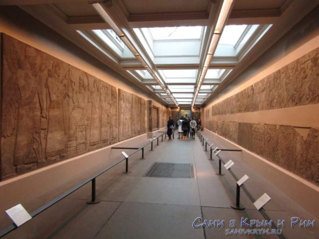 Галерея в Национальном Британском музее
