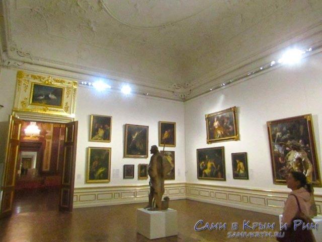 Картинная галерея в Верхнем Бельведере