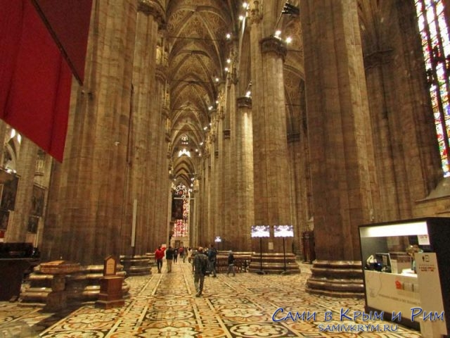 Колоны собора
