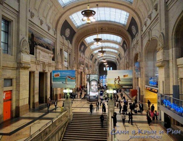 Милано централе внутри