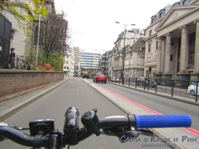 На велосипеде по Лондону