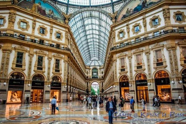 Невероятная роскошт Миланской галереи