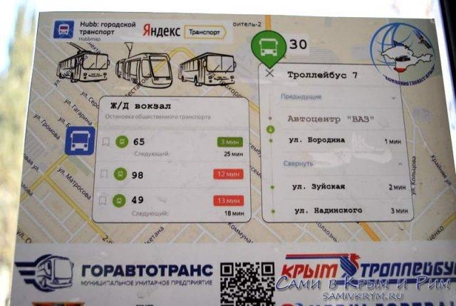 Общественный транспорт Ялты