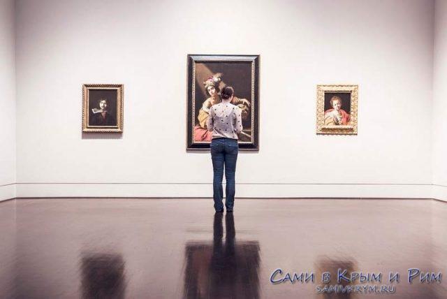 Поход в картинную галерею