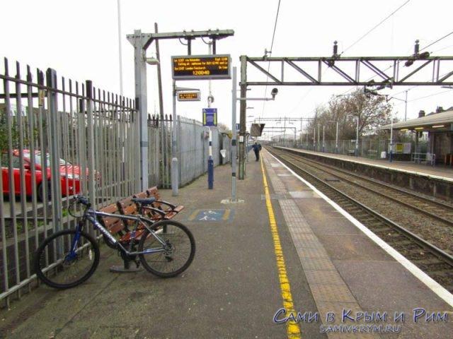 Станция поезда Тилбури-Лондон