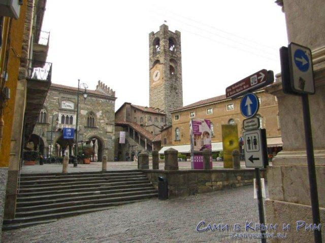 Старая площадь в Старом городе