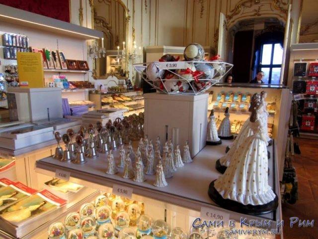 Сувенирный магазин во дворце Хофбург