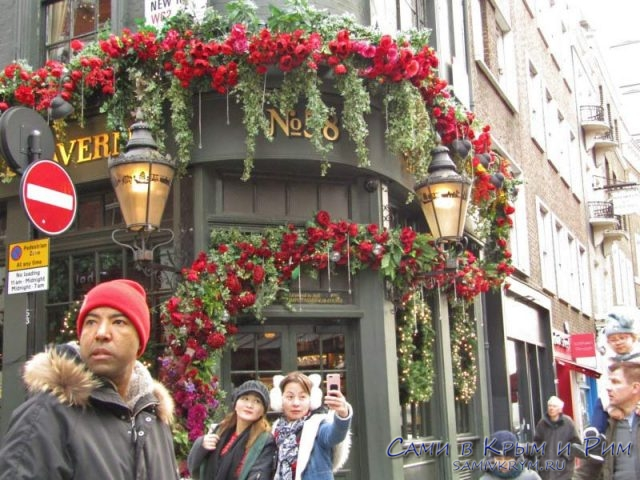 Туристическая улица в Лондоне
