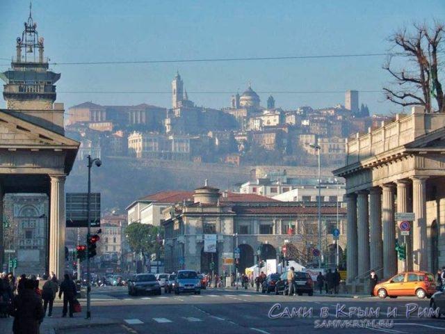 Вид на Старый город из Нового