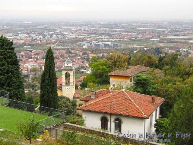 Вид с крепости Сан Виджио