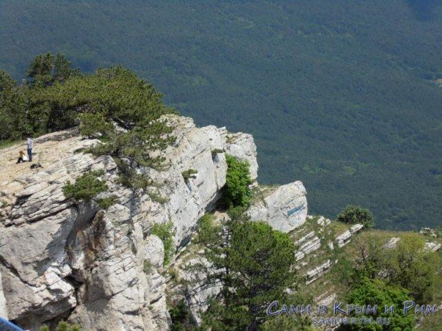 Брутальные скальные массивы Ай-петри