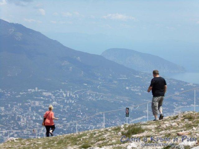 Головокружительные походы по вершине Ай-Петри