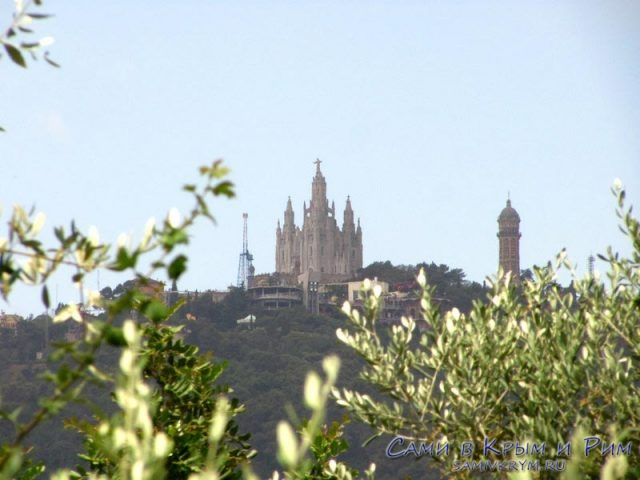 Гора-Тибидабо-в-Барселоне