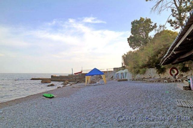 Пляж детского лагеря Ай-Тодор