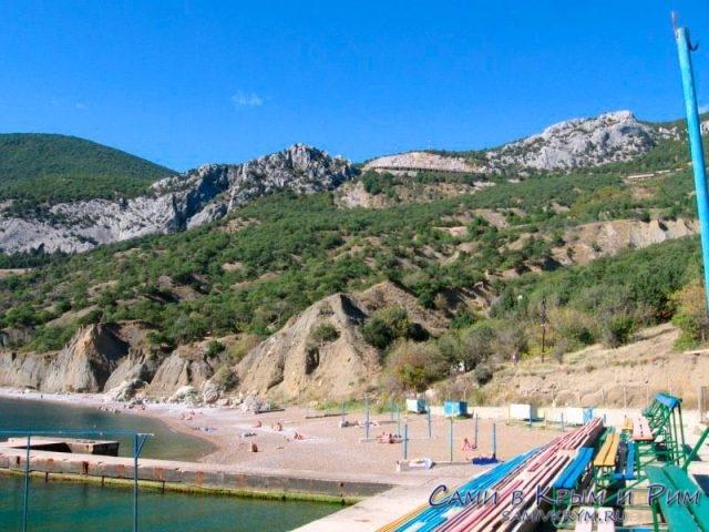 Пляж лагеря Ласпи