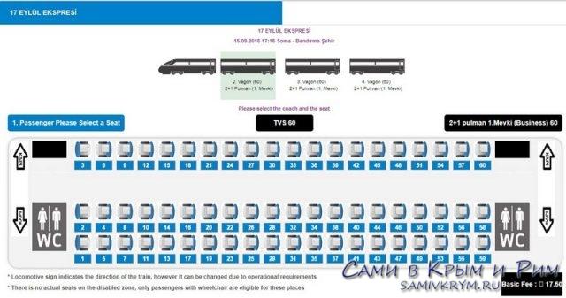 Покупка билета на поезд в Турции (3)