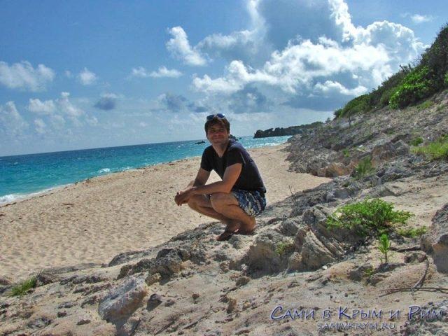 Сам не верю как я не потерялся на Бермудах