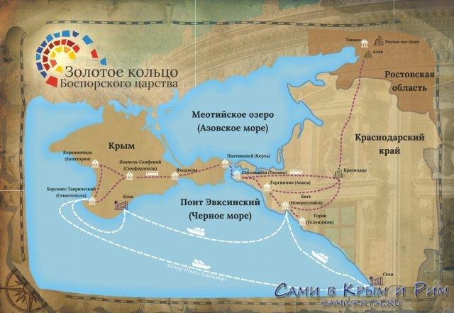 Туры «Золотое кольцо Боспорского царства»: цена и программа